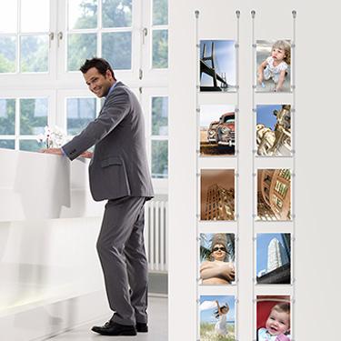 Тросовая система подвеса фиксированная Display-It