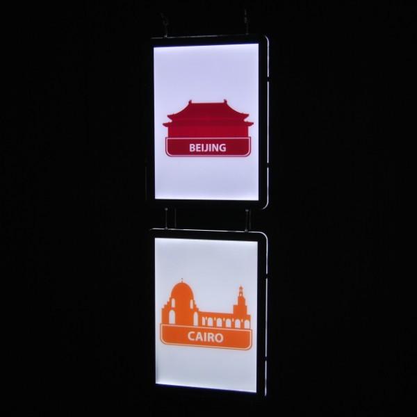 Световые панели 8мм Light Box Magnetic
