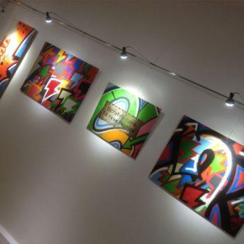 Система подвески и подсветки картин Комби рейл про лайт Адаптер