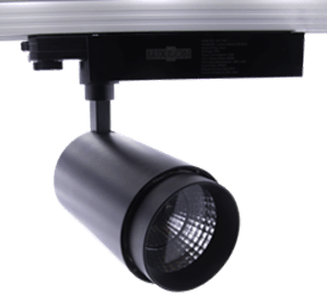трековый светильник Wesen LED 30 Черный