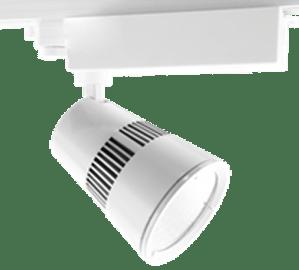 трековый светильник Procyon 1 LED 25 Белый