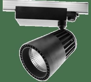 трековый светильник Procyon 4 LED 40 Черный