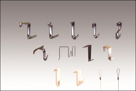 Крючки для картин на перегородки