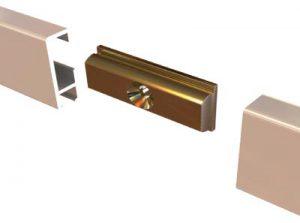 3. Прямой соединитель,латунь RD40200