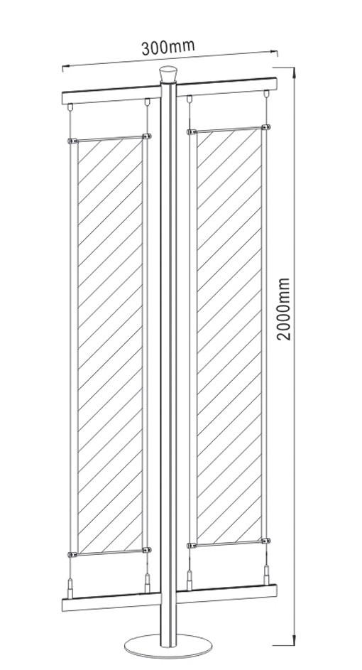 Free Standing Display FS-02