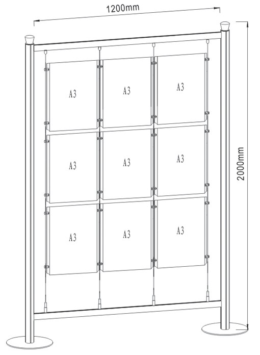 Free Standing Display FS-02_A3_3
