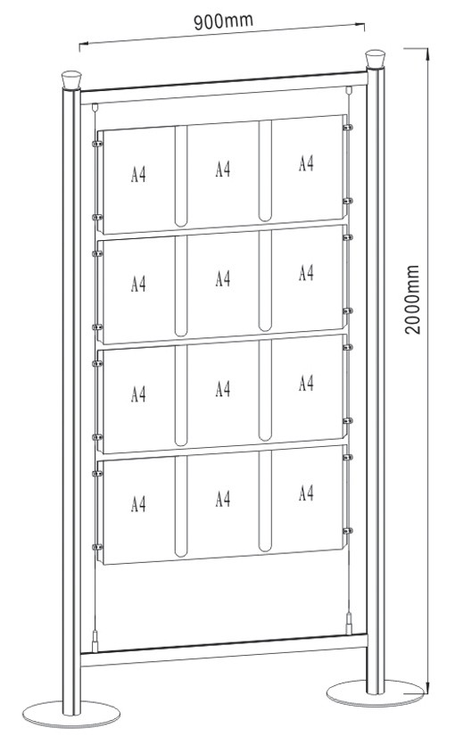 Free Standing Display FS-02_A4_3