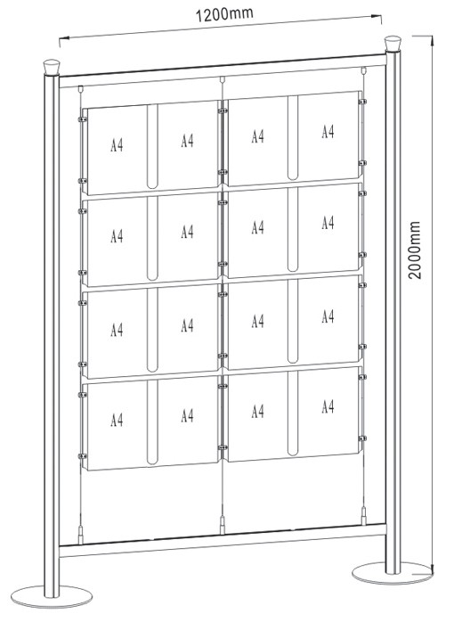 Free Standing Display FS-02_A4_4