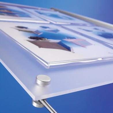 Дистанционные держатели для стеклянных табличек