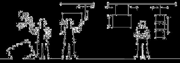 Как повесить картину. Подвесные системы для картин на тросах и лесках